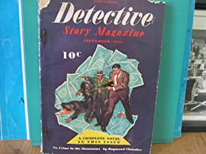 Detective Story Magazine September 1941 Vol. CLXII No. 5 No Crime in the Mountains
