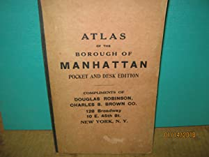 Atlas of the Borough of Manhattan Pocket and Desk Edition 1912