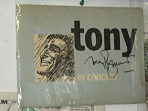 Tony Bennett in Concert - Signed