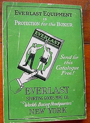 Everlast Boxing Record 1929: Romano, John J., Editor, Cartoon by Will Gould