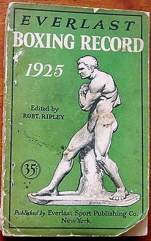 Everlast Boxing Record 1925: Ripley, Robert