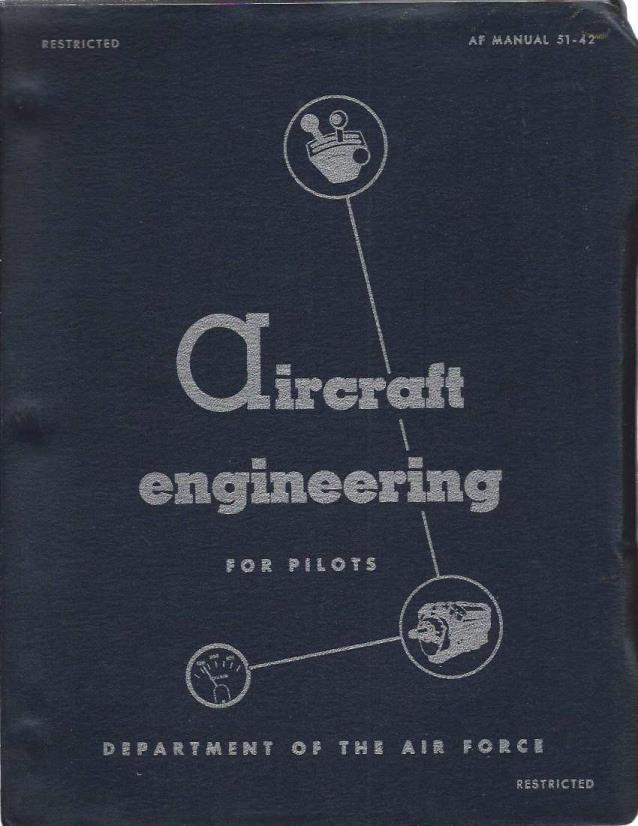 AIRCRAFT ENGINEERING FOR PILOTS Aj Manual 51-42, Department Of The Air Force