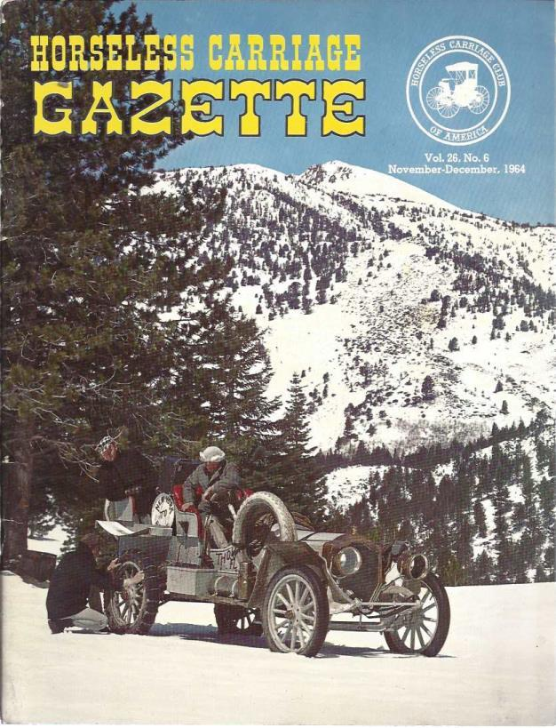 Horseless Carriage Gazette (November-December, Vol. 26, No. 6)