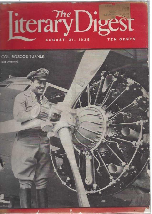 The Literary Digest Magazine August 31, 1935, Literary Digest Magazine