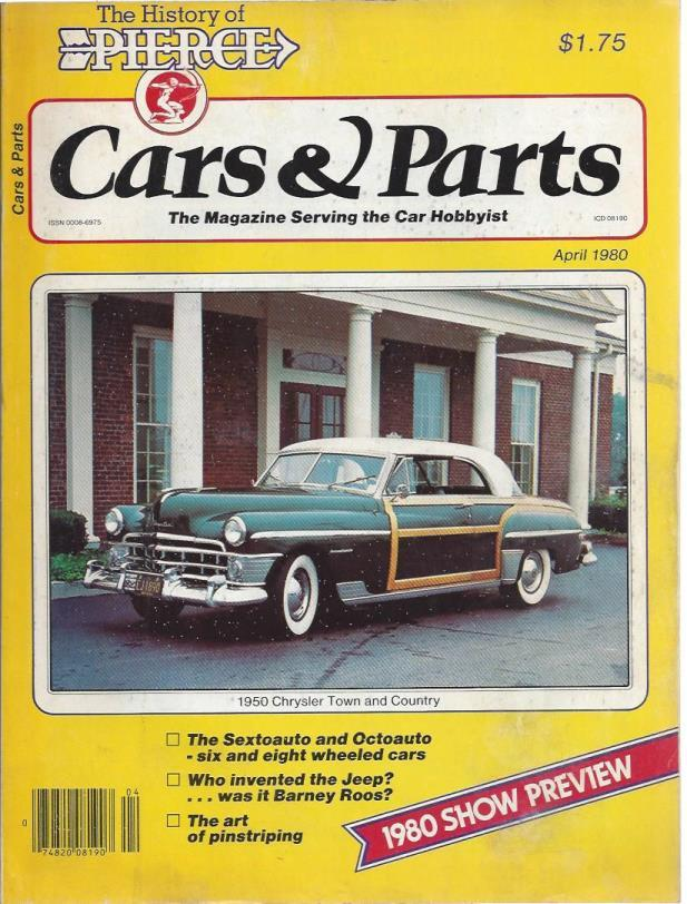 Cars & Parts: 1950 Chrystler Town and Country (April, 1980) - Wayne ...