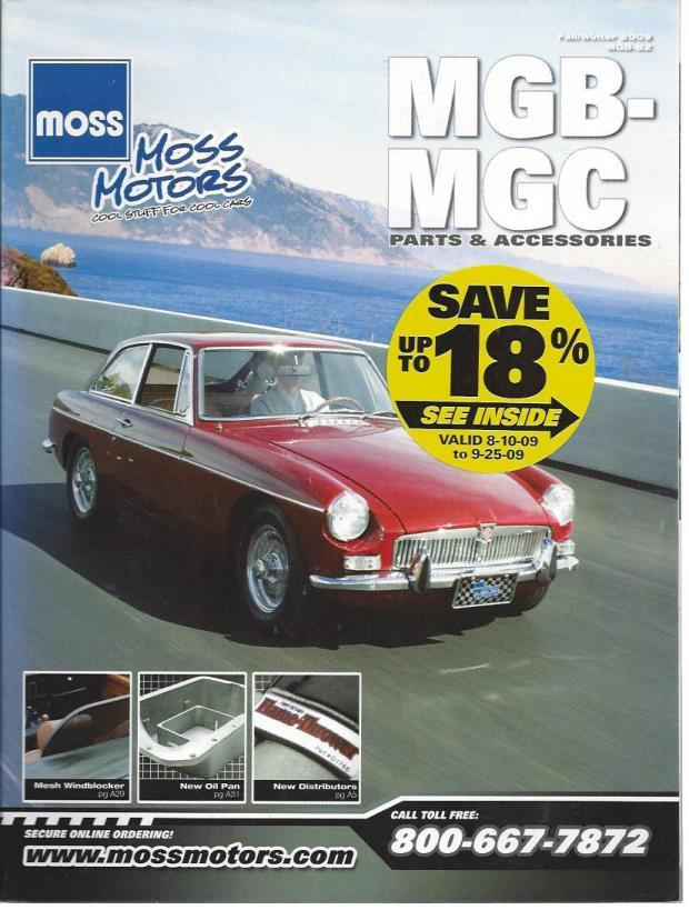 Moss Motors Magazine: MGB-MGC (Fall/Winter, 2009), n/a