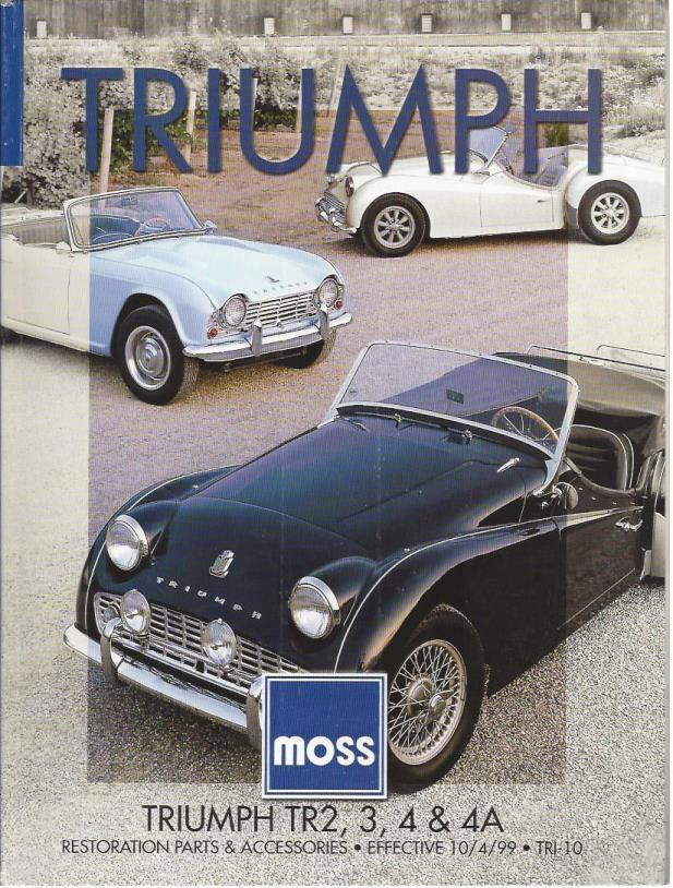 Triumph TR2, 3, 4 & 4A (Effective 10/4/99), n/a