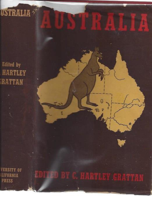 Australia, GRATTAN, C HARTLEY (editor)
