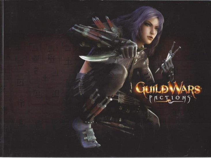 Guild Wars Factions Paperback Art Book (includes Soundtrack CD and Sticker), Guild Wars Factions