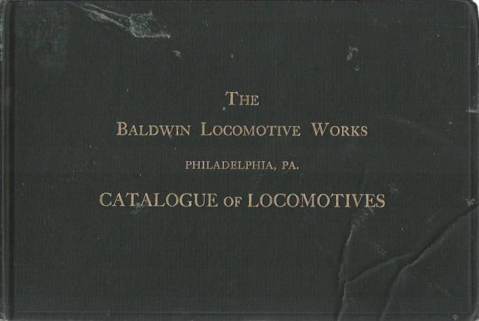 The Baldwin Locomotive Works: Catalogue of Locomotives, Mazieren