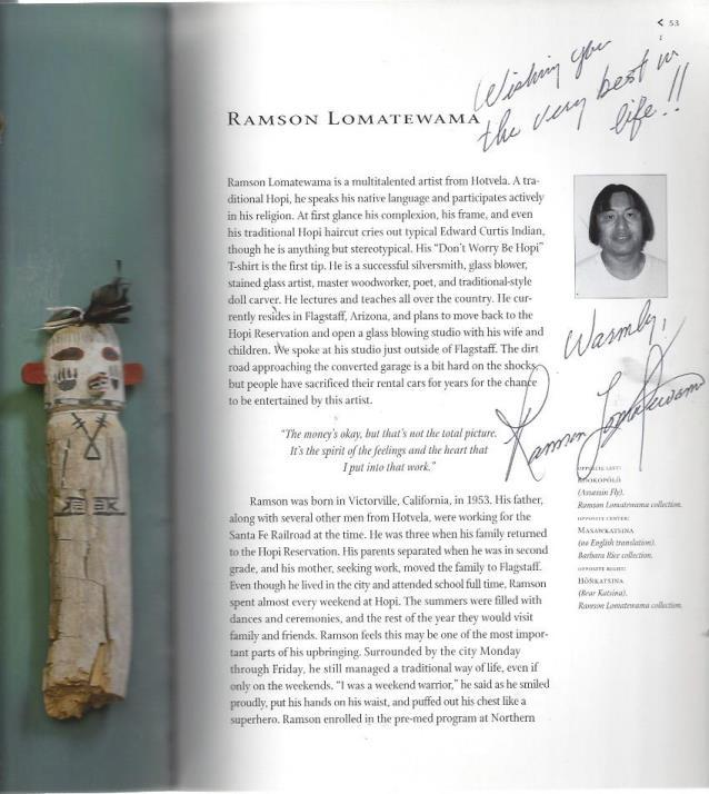 Traditional Hopi Kachinas: A New Generation of Carvers, Day, Jonathan S.