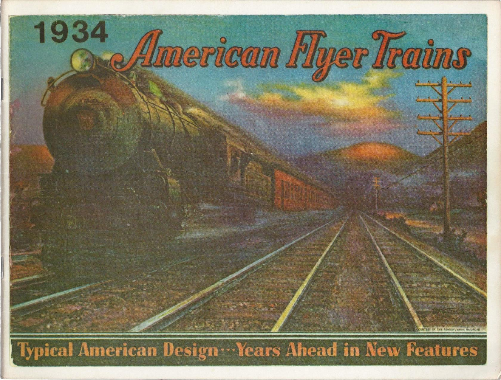 American Flyer Trains 1934 (1975 Reproduction), Bruce C. Greenberg
