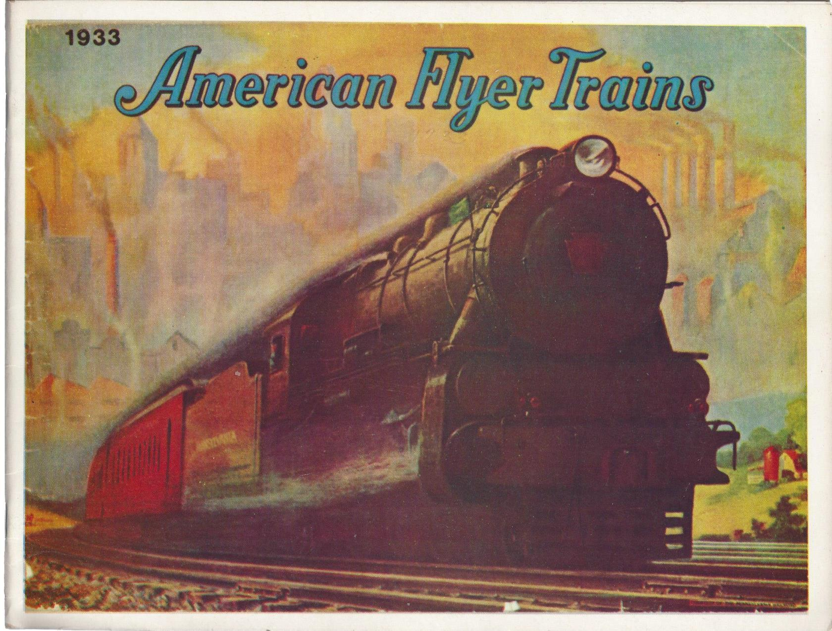 American Flyer Trains 1933 (1975 Reproduction), Bruce C. Greenberg