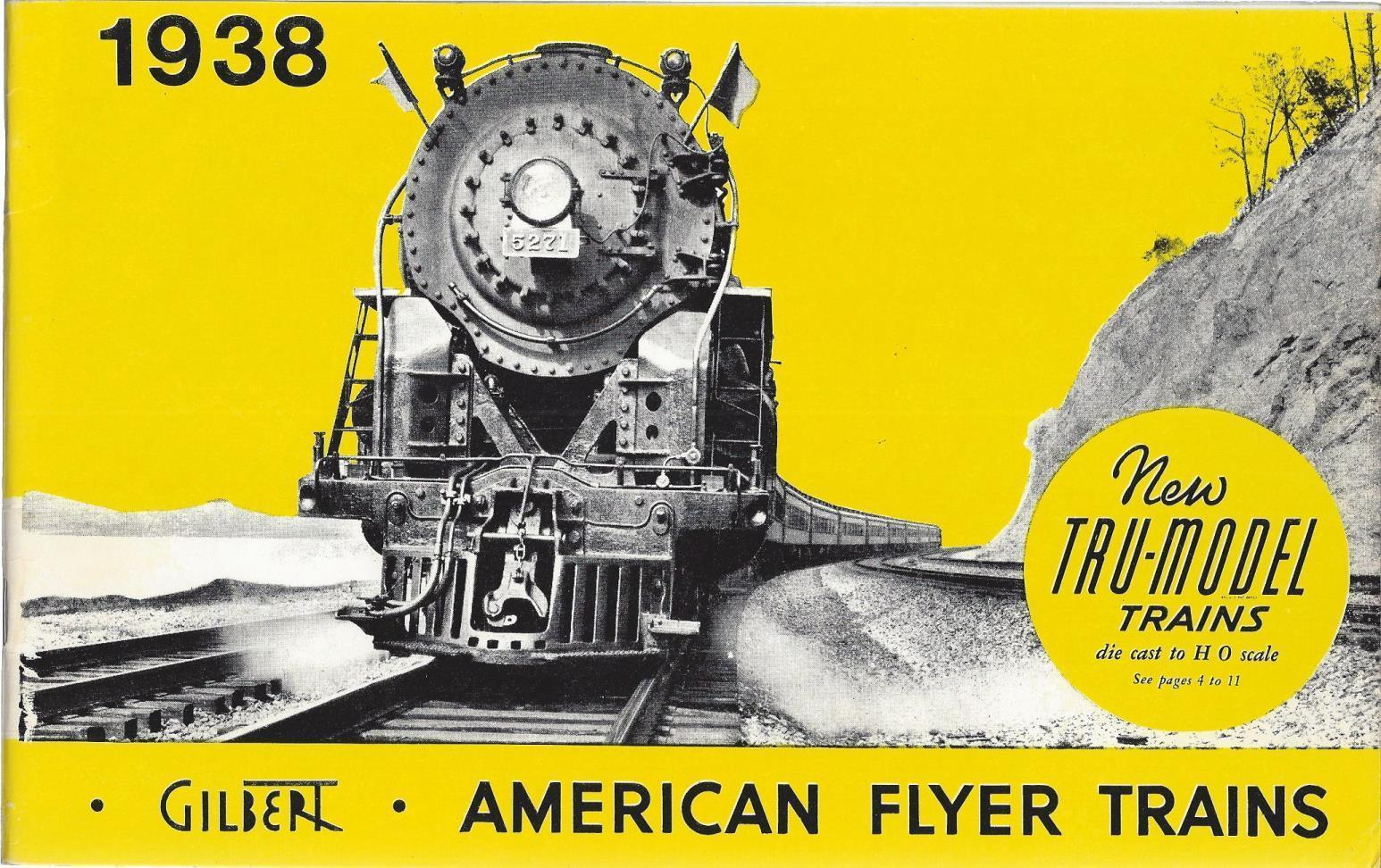 American Flyer Trains 1938 (1975 Reproduction), Gilbert