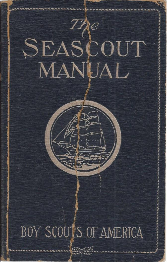The Seascout manual, Boy Scouts of America