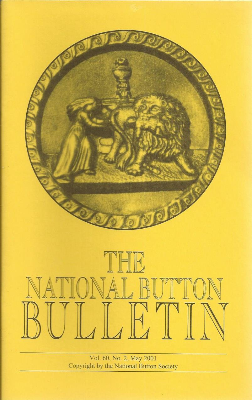 The National Button Bulletin Magazine: vol.60, no.2 (May, 2001), National Button Society