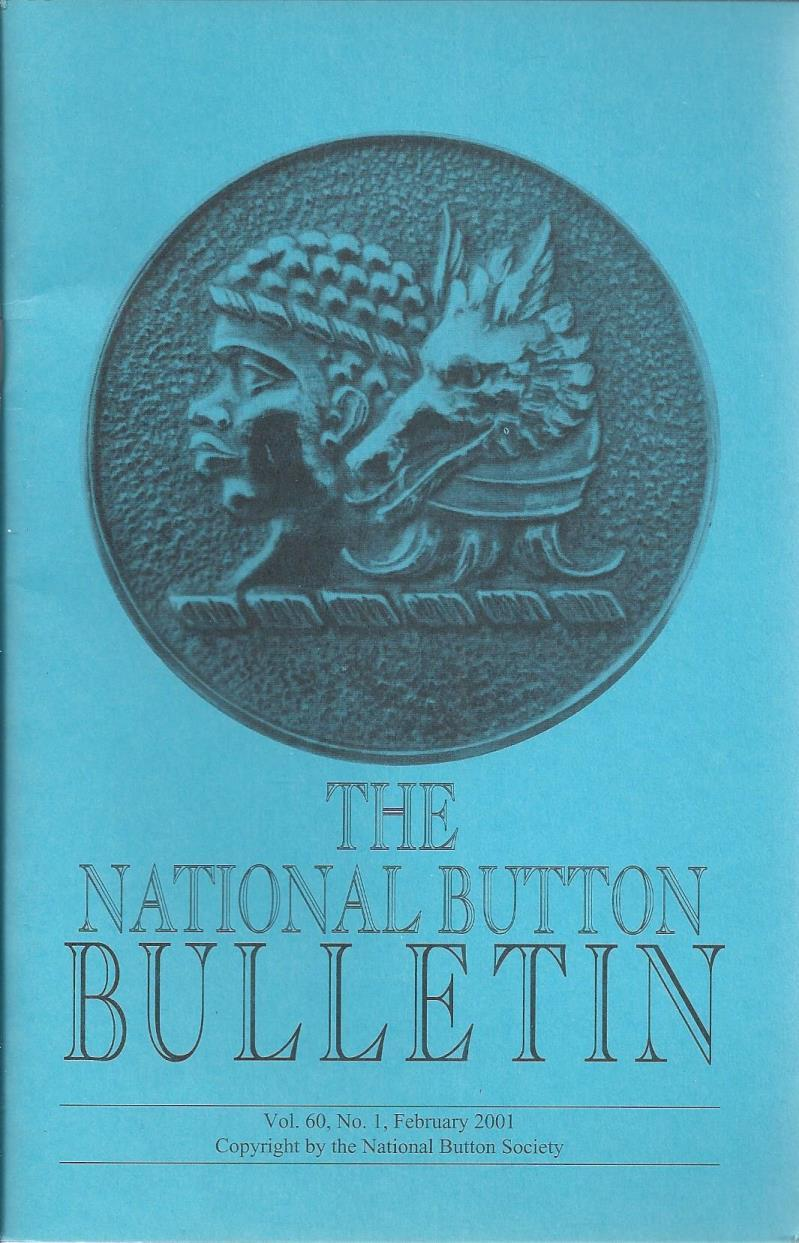 The National Button Bulletin Magazine: vol.60, no.1 (February, 2001), National Button Society