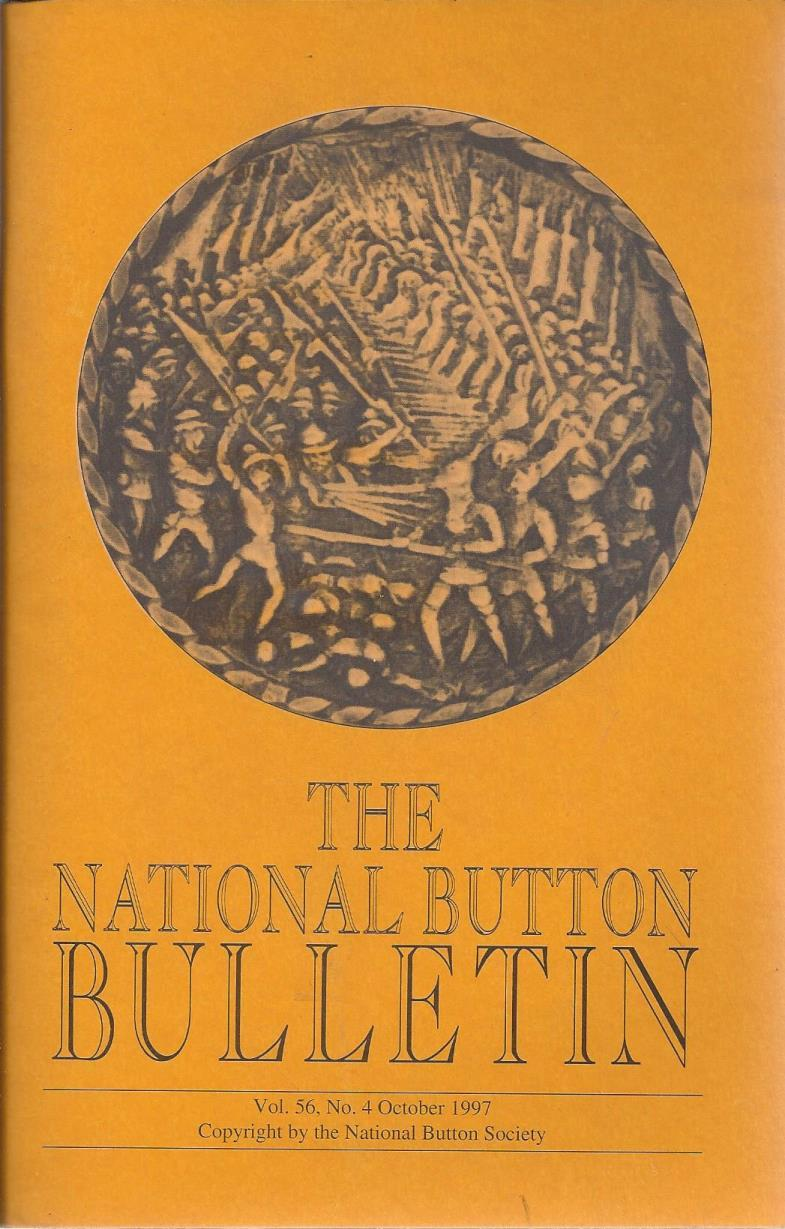 The National Button Bulletin Magazine: vol.56, no.4 (October, 1997), National Button Society