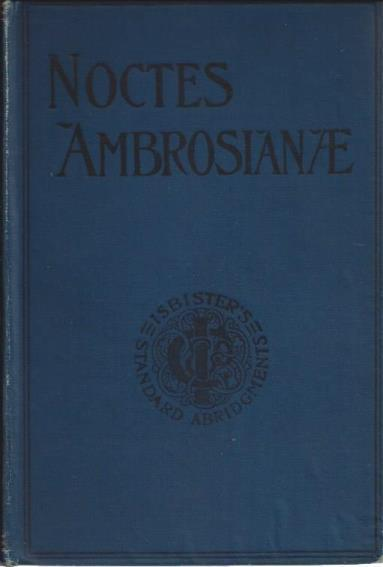 Noctes Ambrosianae, John Wilson (Christopher North)