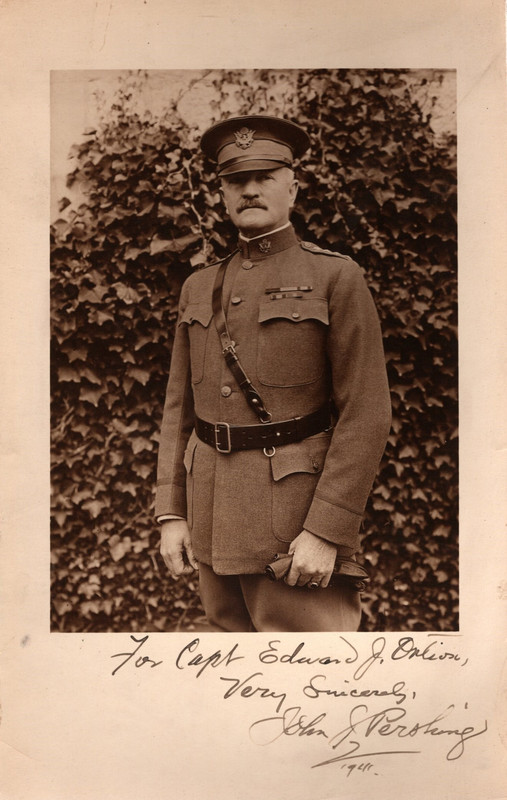 Image for SIGNED Photograph of General John J. Pershing (dated 1941)