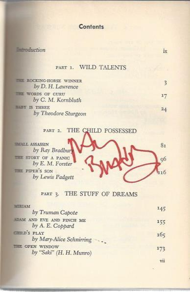 *SIGNED* Children of Wonder, 21 Remarkable and Fantastic Tales About...