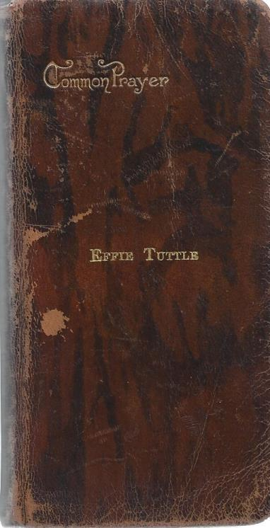 Common Prayer (2 vols. set combined into one book), Effie Tuttle