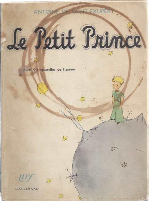 Le Petit Prince: Avec des aquarelles de l'auteur, Antoine de Saint-Exupery