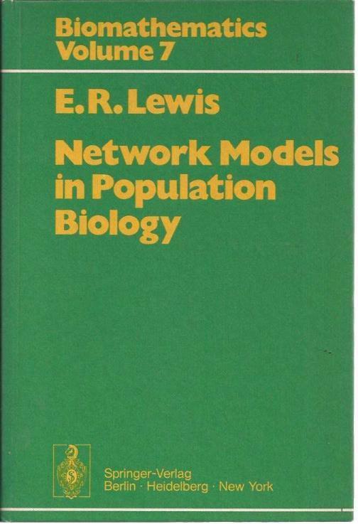Network models population biology, edwin lewis