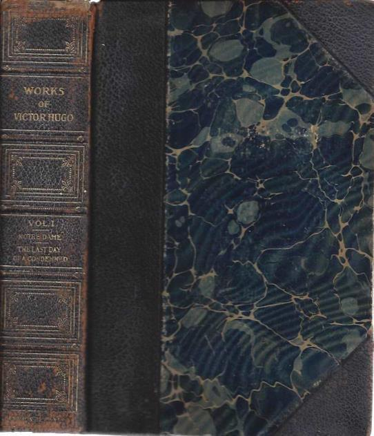 The Works of Victor Hugo, Five Books in a Three-Volume Set (all 3 vols.), Hugo, Victor; Robert Louis Stevenson (intro.)