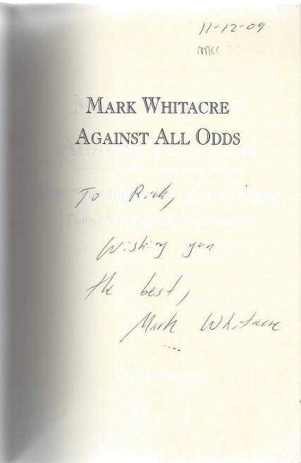 "Mark Whitacre Against All Odds: How ""The Informant"" and his Family Turned Defeat into Triumph, Hoover, Stevin"