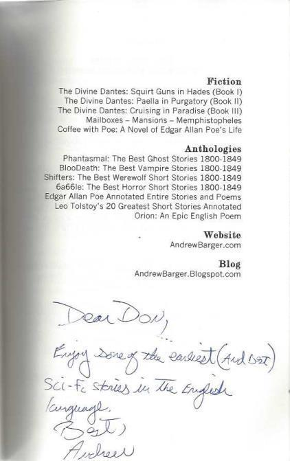 Mesaerion: The Best Science Fiction Stories 1800-1849, Poe, Edgar Allan; Hawthorne, Nathaniel; Barger, Andrew [Editor]