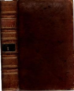 Dizionario portatile, e di pronunzia, Francese-Italiano, e d Italiano-Francese (VOL 1 ONLY), B. Cormon, e Blanc