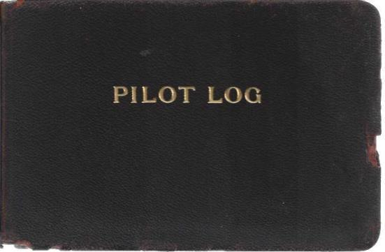 Pilot Log, Civil Aeronautics Administration, A.E. Siddall