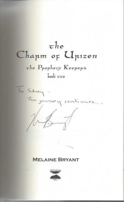 The Charm of Urizen (The Prophecy Keepers Book 2), Melaine Bryant; Greg Lahti [Illustrator]