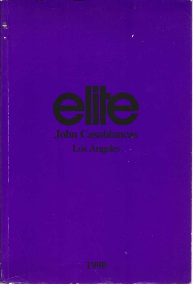 Elite: John Casablancas, Los Angeles Modelling Agency Book, John Casablancas