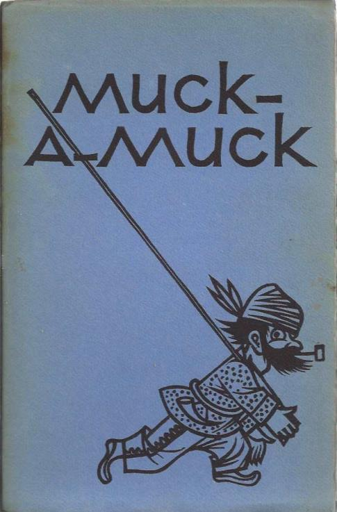"Muck-a-Muck, a parody by Bret Harte of Fenimore Cooper's ""Leather-stocking tales."", Harte, Bret"