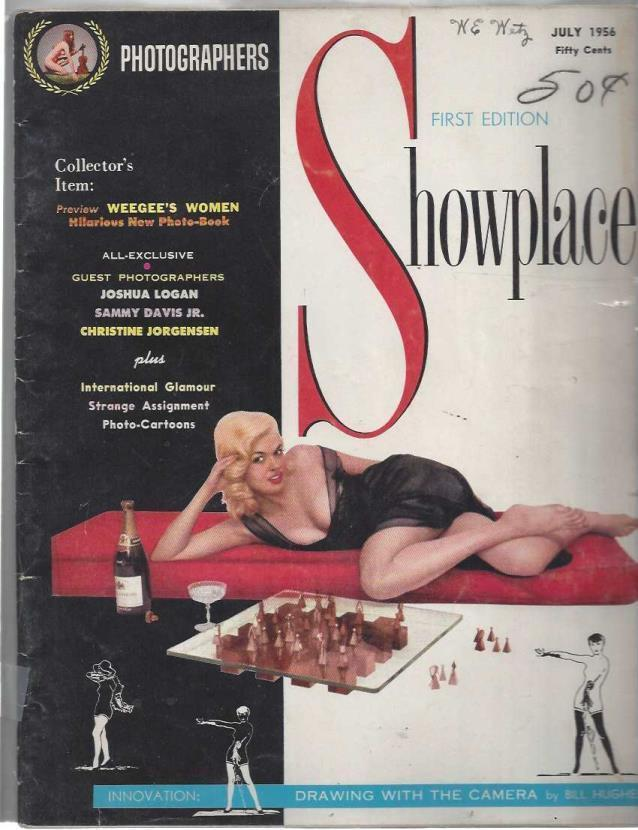 Photographers Showplace Magazine: July 1956 (First Edition), Jane Mansfield
