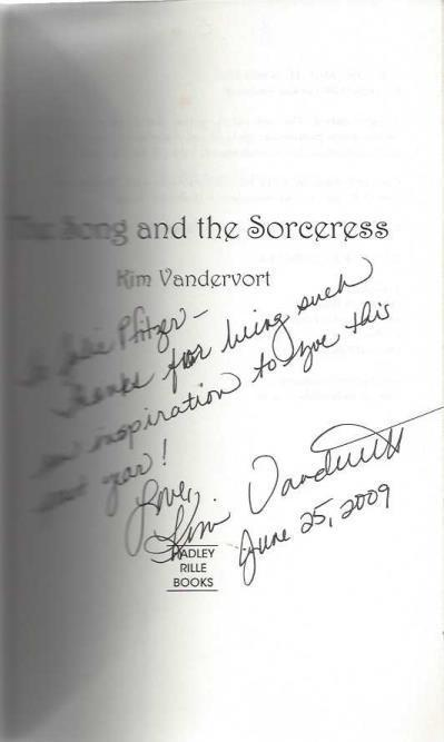 The Song and the Sorceress, Vandervort, Kim