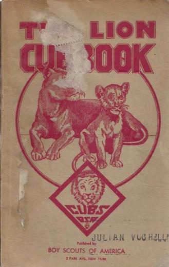 The boy's cub book Part III Lion Rank of the younger boy program of the boy scouts of america, Unknown