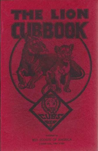 The Boy's Cubbook, Part III -- Lion Rank, Cub Section Boy Scouts