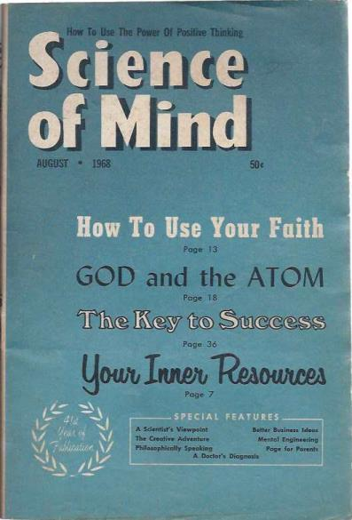 Image for Science of Mind August 1968