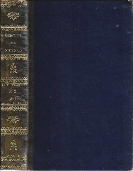 Mercure de France, litteraire et politique. tome vingt-huitieme., Mercure de France