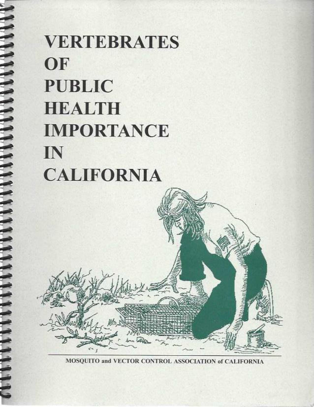 Vertebrates of Public Health Importance in California, Curtis L. Fritz