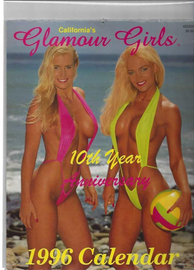 California's Glamour Girls, 10th Year Anniversary: 1996 Calendar, Chuck Goodenough