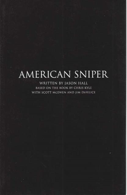 American Sniper (Screenplay), Jason Hall; Chris Kyle [Contributor]