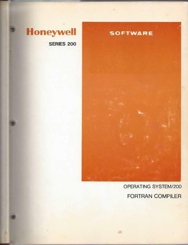 Operating System/200; Fortran Compiler Addendum A, none; none [Contributor]