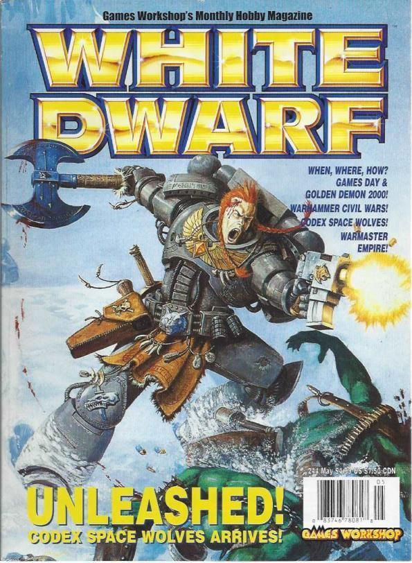 "Collection of 10 ""White Dwarf"" Tabletop Gaming Magazines from 2000 to 2001, Games Workshop; Games Workshop [Contributor]"