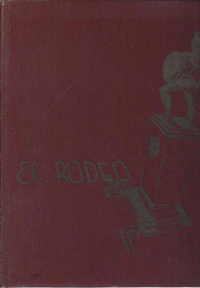 1946 El Rodeo, University of Southern California Yearbook, Los Angeles, California