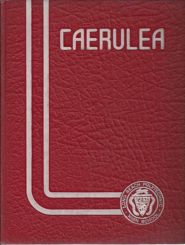 Caerulea 1942: Long Beach Polytechnic High School Yearbook
