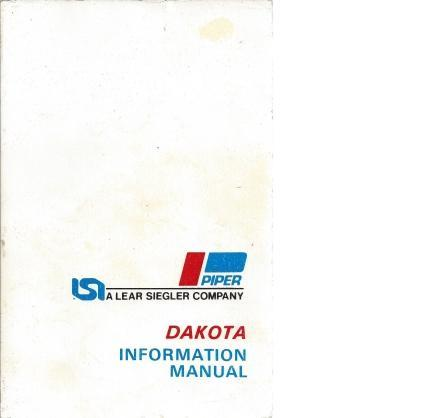 Dakota Information Manual